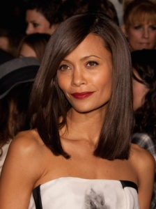 Thandie Newton Shoulder-Length Hairstyle
