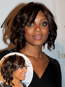 Tiffany Hines Curly Bob Hairstyle