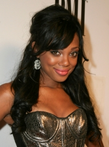 Tiffany Hines Half Up Hairstyle