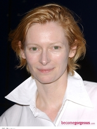 Tilda Swinton Shaggy Short Haircut