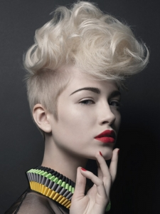 Chic Short Mohawk Haircut