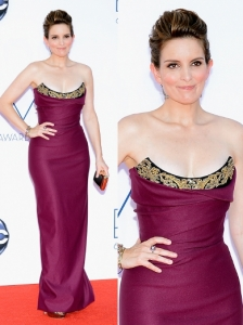 Tina Fey in Vivienne Westwood Gown