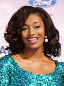 Toccara Jones Curly Hairstyle 2011 BET Awards