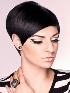 Super-Flirty Short Haircut