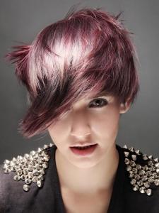 Fabulous Purple Hair Highlights