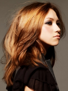 Voguish Long Layered Hair Style