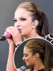 Tulisa High Ponytail Hairstyle