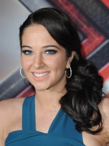 Tulisa Low Side Ponytail
