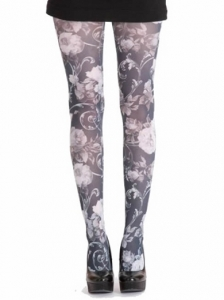 Pamela Mann Twilight Print Tights