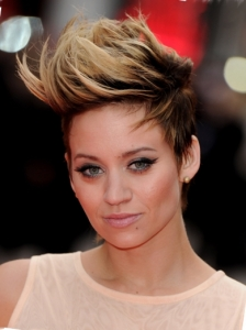 Kimberly Wyatt Two Tone Faux Hawk