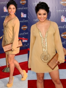 Vanessa Hudgens in Farah Khan Tunic Dress