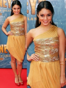 Vanessa Hudgens in Zaeem Jamal Dress
