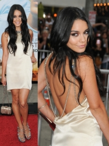 Vanessa Hudgens in Reem Acra Jewelled Dress