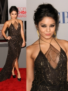 Vanessa Hudgens in Jenny Packham Dress