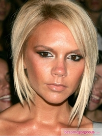Victoria Beckham Golden Eye Makeup