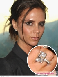 Victoria Beckham Engagement Ring