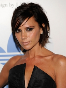 Victoria Beckham Choppy Bob Haircut