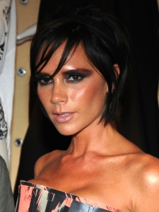 Victoria Beckham Short Choppy Hairstyle