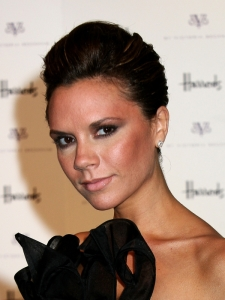 Victoria Beckham Classic Updo Hairstyle