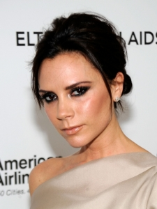 Victoria Beckham Hairstyle at the 2010 Oscars