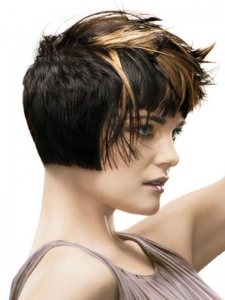 Stylish Brunette Hair Highlights