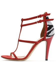 Viktor & Rolf Red Strappy Sandals