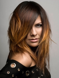 Fabulous Two Tone Hair Color Idea