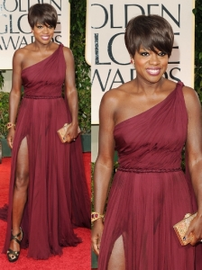 Viola Davis in Pucci at 2012 Golden Globes
