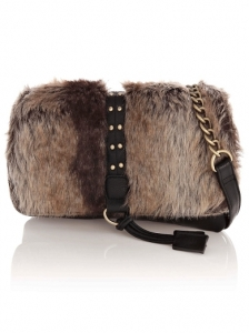 Small Faux Fur Bag
