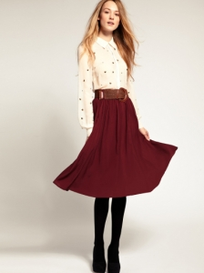 Warehouse Midi Skirt