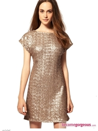 Stylish Holiday Sequin Dresses