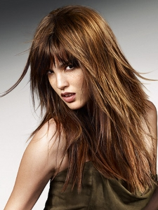 Rock Chic Long Layered Hair