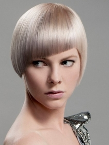 Blonde Short Haircut Idea