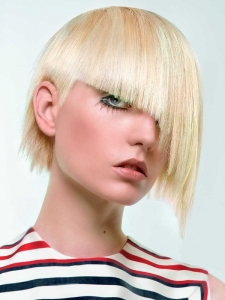 Funky Asymmetrical Medium Haircut