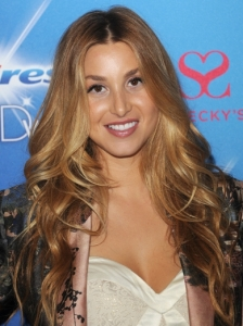 Whitney Port Boho Waves Hairstyle