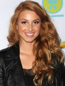 Whitney Port Strawberry Blonde Curls