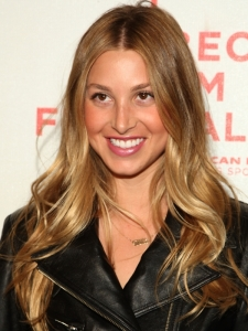 Whitney Port's Long Curly Hairstyle