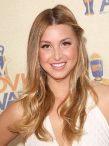 Whitney Port's Boho Side Twist Hairstyle