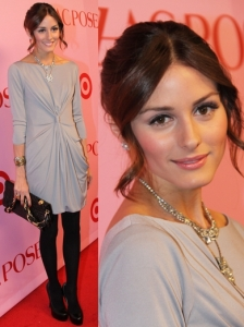 Olivia Palermo in BCBG Max Azria Dress