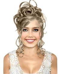 Virtual Hair Style on Try A Prom And Wedding Virtual Hairstyle