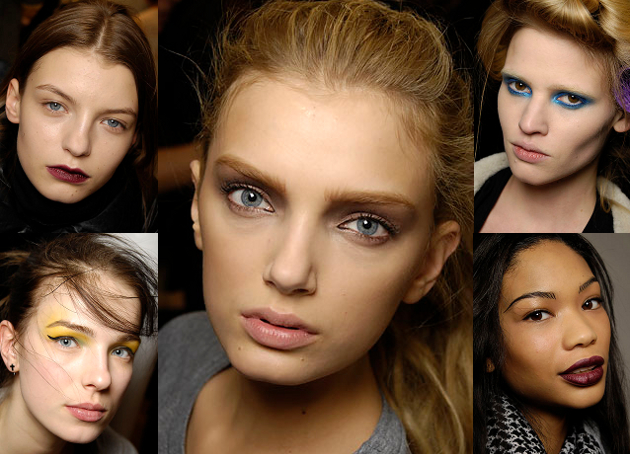 Fall 2008 Makeup Trends - Eyes Lips Face