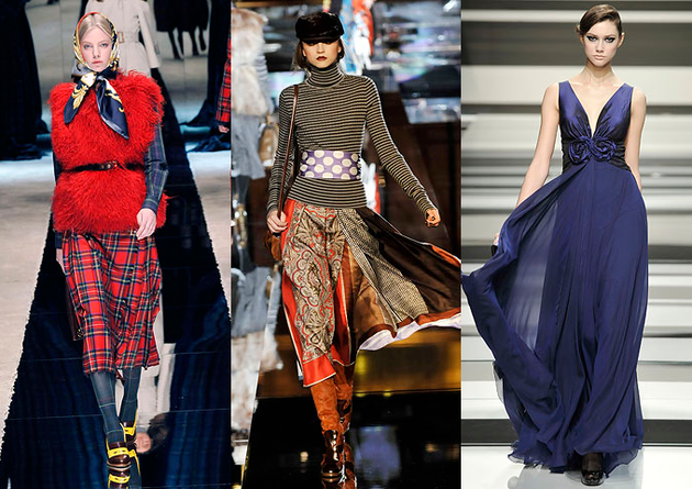 Pictures : Fashion Trends Fall Winter 2008-2009