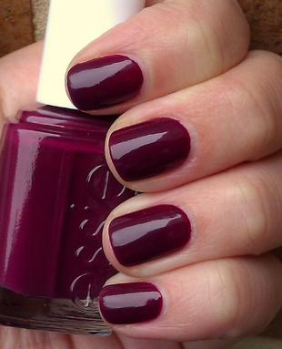 Burgundy Nail Color