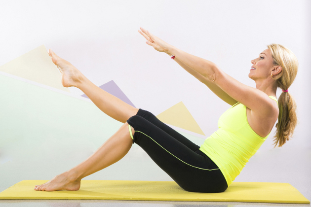 Slimming Down With Pilates