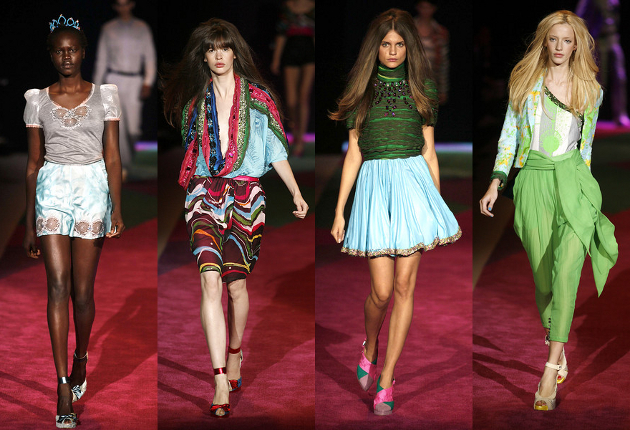 Spring Summer 2009 Fashion Trends at Custo Barcelona