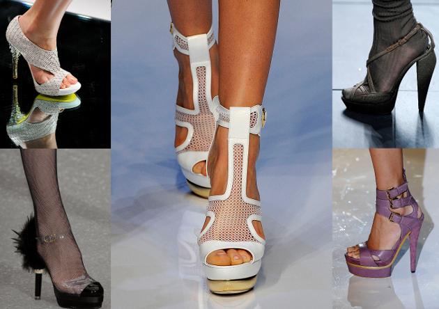 Trends in Shoes for Spring Summer 2009