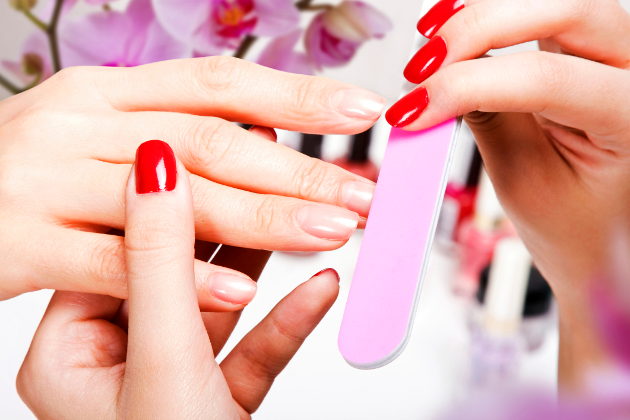 Get Rid of Peeling Nails and Discoloration
