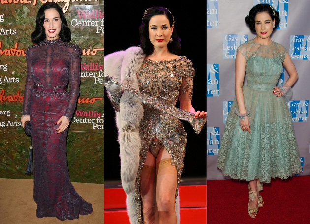 How to Dress Burlesque Like Dita Von Teese