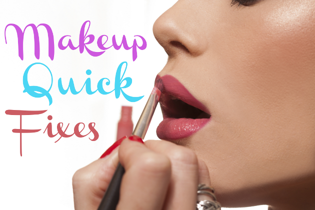 How to Fix Makeup Mishaps