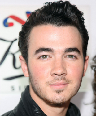 Kevin Jonas Medium Hair